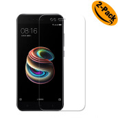 VEN Xiaomi Mi A1 Tempered Glass  screen protector  {2-Pack}  TRANSPARENT