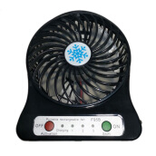 Portable Strong Wind Rechargeable Mini LED Fan for Summer