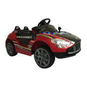 OCEAN TOYS Ride On Mobil Aki Aston Merah Hitam - M-7688