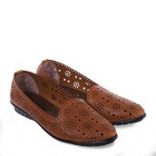 ANYOLORICH Ladies Flat Shoes SM 12 - Tan