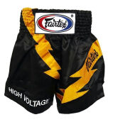 FAIRTEX Boxing Short High Voltage BS0656 - Black