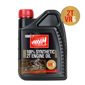 VROOAM-VROOAM 2T ENGINE OIL VR6-BLACK Hitam