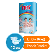 FITTI Popok Tape Rainbow Jumbo Pack L42