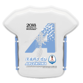 TECHNOPLAST FIFA Russia 2018 Lunch Box 800ml - Argentina [FG-SW830.FF18/48P]