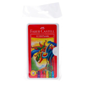 FABER-CASTELL Hexagonal Oil Pastell 12 Pcs Plastic Bag 120063ON
