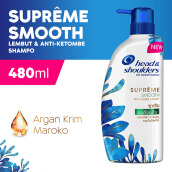 HEAD & SHOULDERS Shampoo Supreme Smooth Anti-Ketombe 480ml