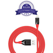 Tronsmart 19AWG Double Braided Lightning Cable 3M - Red/Merah