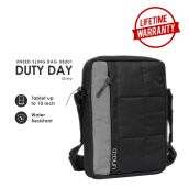 UNEED DUTY DAY Tas Selempang Pria Water Resistant UB201 - Grey
