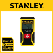 Stanley 9m TLM 30 Laser Dist. Measurement STHT77425 Yellow