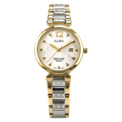 Alba Ladies Dual Color Dial Dual Tone Stainless Steel Strap [AH7N32X1] Multicolor