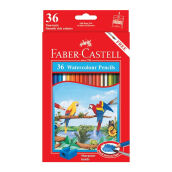 FABER-CASTELL Watercolour pencils parrot 36 L 114466