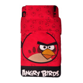 RISE Sprei Set Angry Bird Queen - Red / 160 x 200 x 35 cm