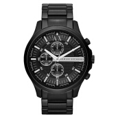 Armani Exchange Chronograph Black Dial Black Stainless Steel [AX2138]