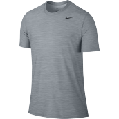 NIKE As M Nk Brt Top Ss Dry - Pure Platinum/Cool Grey