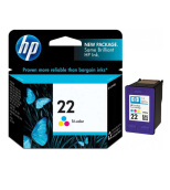 HP Cartridge 22 Tri-Color Original
