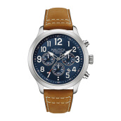 NAUTICA Watch NCC 01 Chrono Light Brown [NAD14531G]