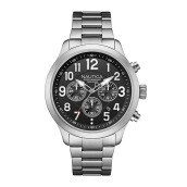 NAUTICA Watch NCC 01 Chrono Box Set Steel [NAI18508G]