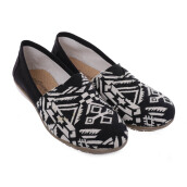 ANYOLORICH Ladies Flat Shoes B 04 - Black