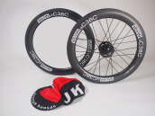 JK Wheelset 349 for Brompton Without Rear Hub C38C