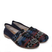 ANYOLORICH Ladies Flat Shoes B 76 - Navy