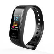 Kenny  CK17S Bluetooth4.0 Smart Band Color Screen Smart Watch For iPhone Xiaomi Samsung OPPO