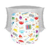 Happy Diapers Pant Popok Bayi 80'S Invader