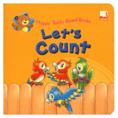 Dickens (Uk) Happy Teddy Board Books - Lets Count