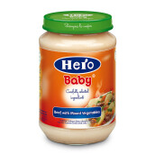 HERO BABY Import Premium Food Beef with Mixed Vegetables 200 gr