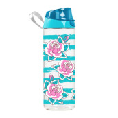 HEREVIN Sports Bottle Pc-- Blue Rose 750 cc
