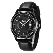 Lee Watch Jam Tangan Pria Lee Metropolitan Gents Kulit Hitam M11DBL1-1S