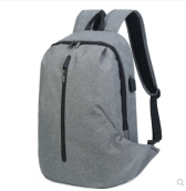 Ins I-226 Trendy outdoor travel &casual Business backpack-Grey