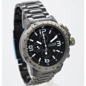 Balmer Stainless Steel Chain Mens B.7964MB-918D45HTGR Chronograph Hitam Grey Grey