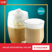 Excelso Voucher Value Rp 100.000