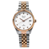 Alexandre Christie AC 5006 MD BTRSL Ladies White Dial Stainless Steel [ACF-5006-MDBTRSL] Multicolor