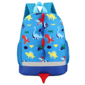 BESSKY Baby Boys Girls Kids Dinosaur Pattern Animals Backpack Toddler School Bag_