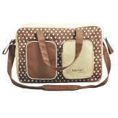 BABY SCOTS Tas Perlengkapan Bayi MOMMY BAG PLATINUM - Diapers Bag MB012 Brown