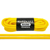 KIPZKAPZ RS57 Round Shoelace - Sunlight Yellow [4mm]