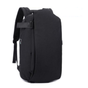 Ins I-228 Trendy outdoor travel &casual Business backpack-Black