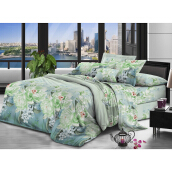 NYENYAK Jade Fitted Sheet / Comforter - Green