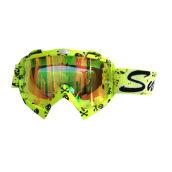SNAIL MX 18  - Yellow Skull - Red Yellow