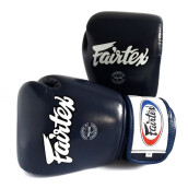 FAIRTEX Boxing Gloves STD Navy Blue BGV1