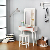LIVIEN Furniture - Meja Rias Kosmetik Snow White
