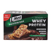 L-MEN Paket Crunchy Bar Rasa Coklat Isi 12 pcs (Box)