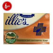 ILLIES ANTISEPTIC Moistcare Bundle 85 gr x 6 pcs