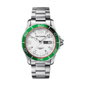 Moment Watch Guy Laroche GLM8194-04 jam tangan Pria - stainlles steel - Silver Silver