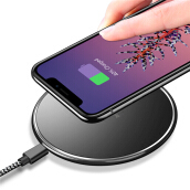Wireless Charger for iPhone 8/X /8 Plus 10W Qi Fast Charging Pad for Samsung Galaxy S8/S7 /S8 Plus