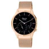 Alexandre Christie AC 8519 MS BRGBA Black Dial Rose-Gold Stainless Steel [ACF-8519-MSBRGBA] Rose Gold