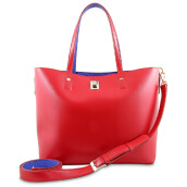 Les Catino Chevell Shopper Bag Red/Royal Blue