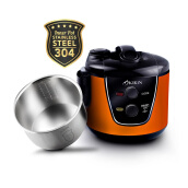 KIRIN Rice Cooker 2 Ltr KRC 389 OR/SS - Orange