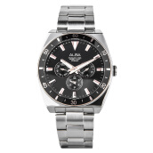 Alba Man Black Dial Stainless Steel Watch [AP6518X1] Silver
